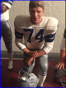 NFL Danbury Mint Dallas Cowboys Doomsday Defense Statues & Coa