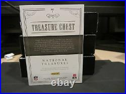 National Treasures Treasure Chest Laundry Tag Cowboys Prescott Elliott 1/1 2016