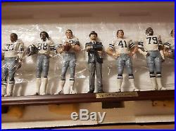 New Dallas Cowboys Danbury Mint 1977 Team Set Figures. Original Box/styrofoam