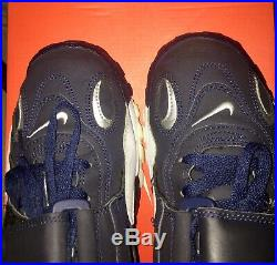 Nike Air Max Speed Turf Blue And White Dallas Cowboys Size 9.5