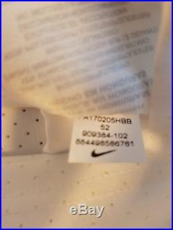 Nike Dallas Cowboys DAK Prescott Vapor Elite Jersey White Men's Size 52 2XL