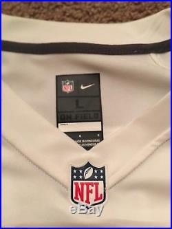Nike Dallas Cowboys Dak Prescott Jersey WITH Nike Cowboys Hoodie Combo Size L