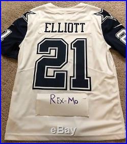 Nike Dallas Cowboys Ezekiel Elliott Color Rush Limited Jersey 100% Authentic