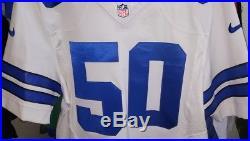 Nike Elite Dallas Cowboys Sean Lee #50 White Jersey Size 48 NFL NWT MSRP $250