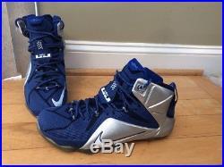 d57e3cd1926c Nike Lebron 12 XII size 12 684593 410 James NBA Dallas Cowboys NBA ...