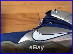 Nike Lebron 12 XII size 12 684593 410 James NBA Dallas Cowboys NBA NFL