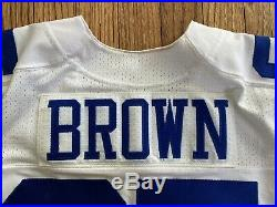 Noah Brown Game Used Worn Dallas Cowboys Jersey Ohio State
