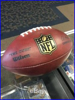 Philadelphia Eagles VS Dallas Cowboys Game Used Football 9/20/2015
