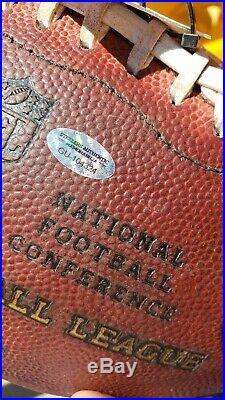 Pittsburgh Steelers vs Dallas Cowboys Game Used Football 11/13/16