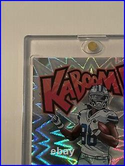 RARE 2020 Panini Absolute Kaboom K-CL2 CeeDee Lamb RC Rookie Case Hit SP Cowboys