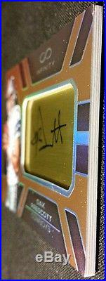 RC AUTO GOLD #'D /8 2016 DAK PRESCOTT Infinity #209 ULTRA RARE BASE ROOKIE CARD