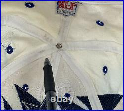 Rare Logo Athletic Dallas Cowboys Vintage Sharktooth Snapback Hat Cap Pro Line