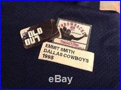 Rare Mitchell and Ness Emmitt Smith Dallas Cowboys Jersey Size 56 3XL 1995 VNDS