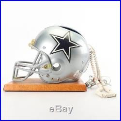 Rare Vintage NFL Dallas Cowboys Football Riddel Helmet Telephone Desk Phone