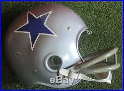 Riddell Kra-Lite RK2 Suspension Football Helmet 1960s DALLAS COWBOYS