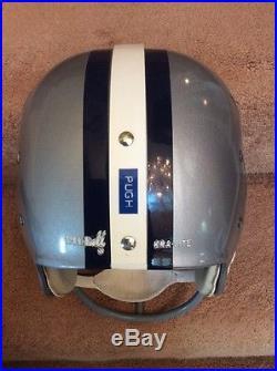 Riddell Kra-Lite RK2 Suspension Football Helmet- 1967 Dallas Cowboys Jethro Pugh