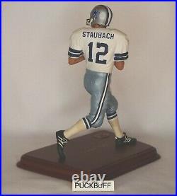 Roger Staubach DALLAS COWBOYS Quarterback NFL 9 Danbury Mint Figure