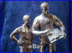 Roger Staubach Dallas Cowboys 1995 Michael Ricker The Legend Lives Statue Pewter