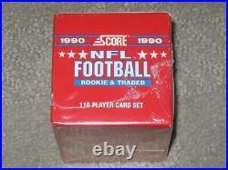 Sealed Damaged 1990 Score Rookie & Traded Supplemental Set Emmitt Smith