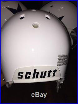 Sean Lee #50 Dallas Cowboys Game Used Helmet Shell Schutt 2011 Throwback