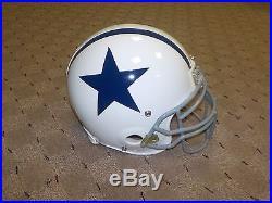 Sean Lee Game Used Game Worn Throwback Helmet Dallas Cowboys COA