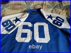 Stall & Dean 1960's Dallas Cowboys Throwback Jersey size XXXL new pics