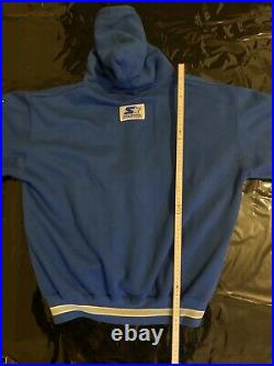 Starter Hoodie Pullover Dallas Cowboys Size XL Retro Vintage Starter JACKET