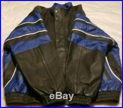 Starter Proline NFL Dallas Cowboys Football Genuine Leather Jacket Men's XL USED