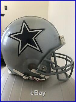 TONY ROMO Edition DALLAS COWBOYS Riddell AUTHENTIC Football Helmet NFL