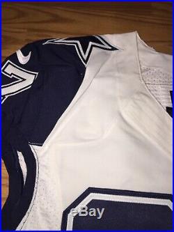 Terrell McClain Dallas Cowboys Game Used Worn Jersey Nike Color Rush Prova Rare