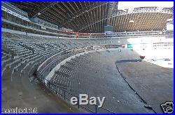 Texas Stadium Complete Seat Dallas Cowboys Game USED Chair COA Super Bowl team