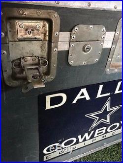 Texas Stadium Dallas Cowboys 2007 Travel Trunk 37x25x28 game used rare authentic