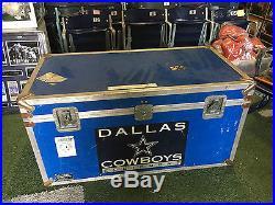 Texas Stadium Dallas Cowboys 2007 Travel Trunk 49x25x26 game used rare authentic