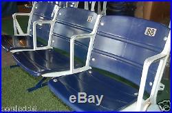 Texas Stadium Dallas Cowboys Game USED seats #8, 22, 88 memorabilia collectible