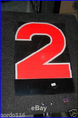 Texas Stadium Dallas Cowboys NFL 1st First Down Marker Game Used Historic SPORTS