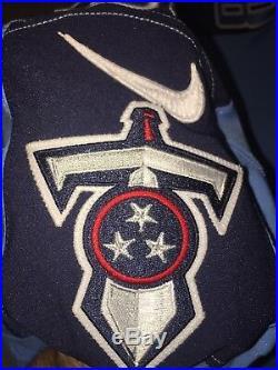 Tim Semisch Tennessee Titans 2017 Game Worn Used Jersey NIU Huskies Nike