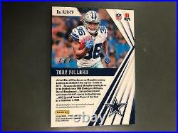 Tony Pollard 2019 Phoenix Auto Autograph Nike Swoosh Patch Rookie #1/1 Cowboys