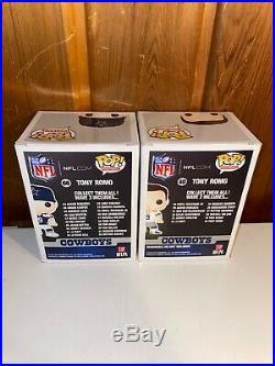 Tony Romo Dallas Cowboys Funko Pop Bundle Vaulted TOYS R US Mint