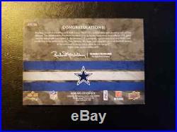 Troy Aikman 2008 Upper Deck Exquisite Signature Jersey Autograph /25 Auto Ud