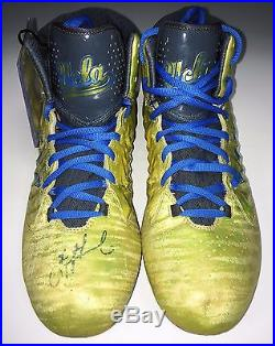 Troy Aikman Signed UCLA Game Used Adidas Pair of Cleats PSA/DNA Cert # AA95794