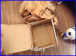 VTG 1960's ORIG BOX MY HERO KISSING DOLL DALLAS COWBOYS BOBBLEHEAD NODDERS JAPAN