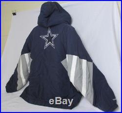 VTG Men's Mitchell & Ness Throwbacks Dallas Cowboys Starter Pullover Coat Sz 3XL