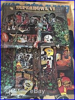 Vintage 1972 Tudor Super Bowl Dallas Cowboys Miami Dolphins Electric Football
