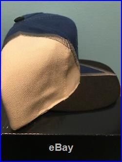 c01e4e65 Vintage 90s Dallas Cowboys Logo Snapback Hat Drew Pearson Rare