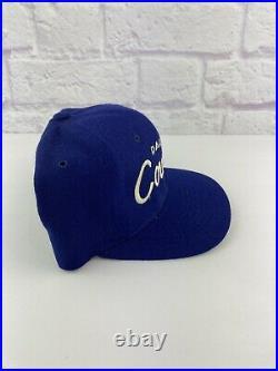 Vintage 90s Dallas Cowboys Sports Specialties SL Script Snapback Hat Wool NFL