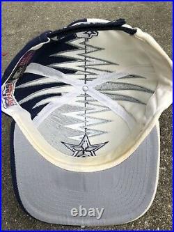 Vintage 90s Dallas Cowboys Starter Shockwave Slasher Hat Cap NFL SnapBack