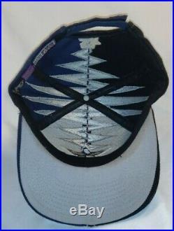 Vintage 90s Starter Pro Line Dallas Cowboys Darkside Shockwave Strapback Hat