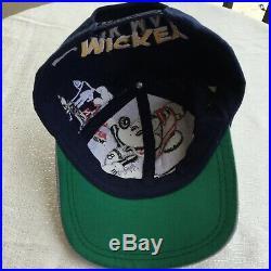 Vintage Big Logo Mickey Mouse cowboys Snapback Hat Cap NFL Disney
