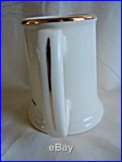 Vintage DALLAS COWBOYS Team Logo 1960-1970 JAX THE MELLOW BEER Ceramic Mug STEIN
