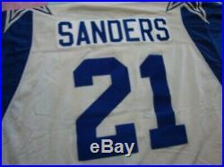 Vintage Dallas Cowboys Deion Sanders 1995 Starter Throwback Jersey Size 48 L